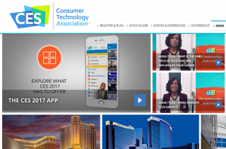 Consumer Electronics Show (CES) 2017 is opening tomorrow 5-Jan at Las Vegas