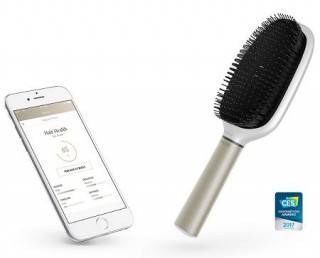 The smart hair brush that can tell how to improve your hair quality
