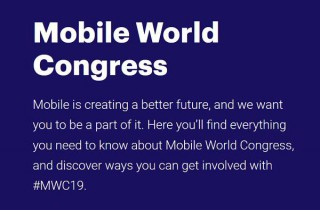 Mobile World Congress 25-28 Feb 2019 Barcelona