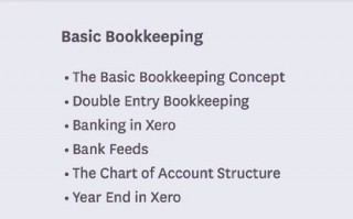 Xero Bookkeeping for small businesses and bookkeepers