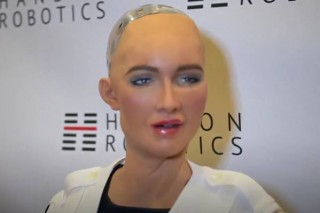 The Amazing Robot Sophia Wants to Dominate the Human Race